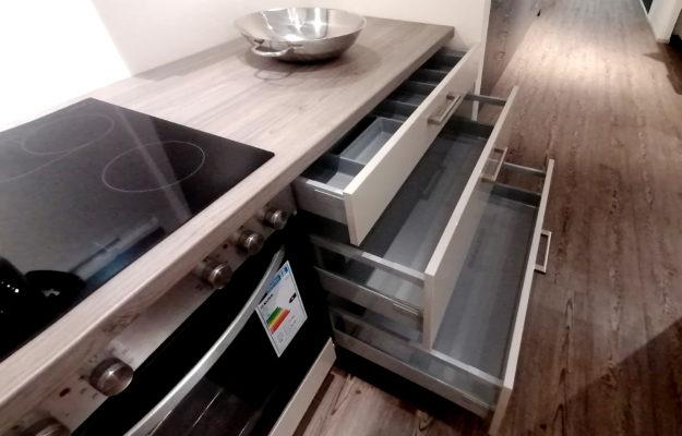 Einbauküche Laila Sandbeige